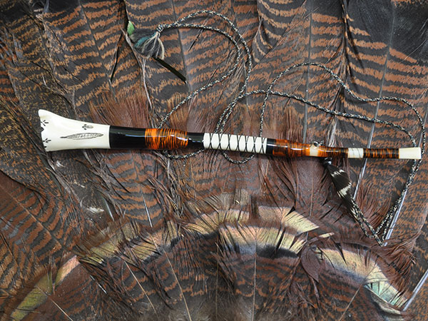 This Birdman Wingbone call was made by Jay Burnworth of Dola, Ohio.