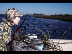 BW Teal GW Teal Shoveler Lady Hunter